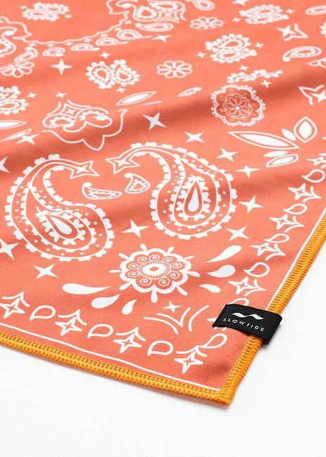 Travel Towel Paisley Park Red