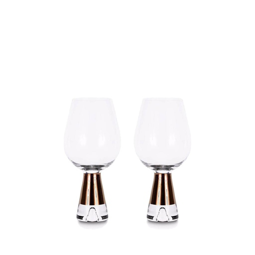 Tank Wine Glasses, Set of 2