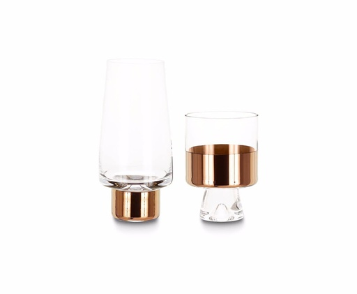 Tank High Ball Glasses, Set of 2