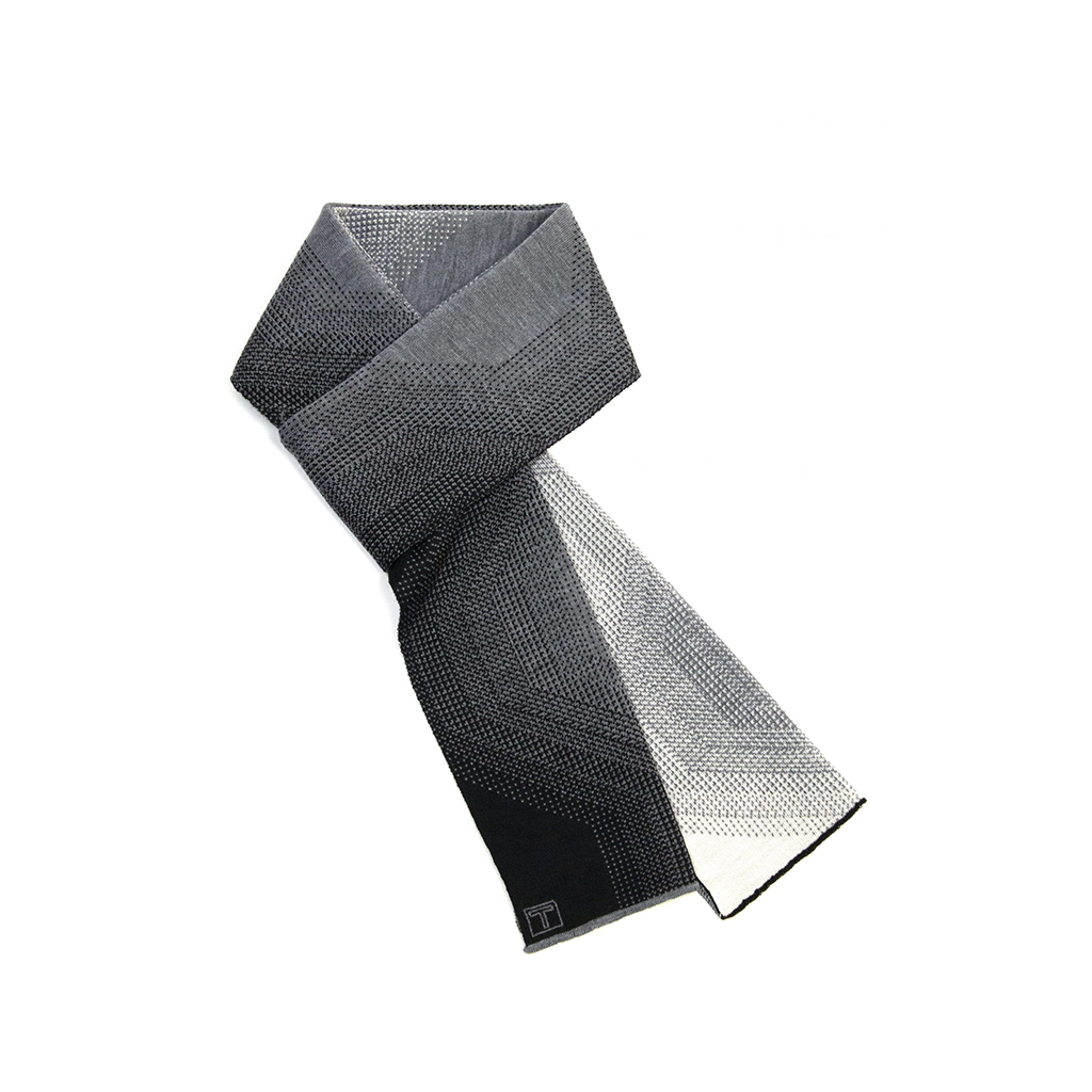 Prisma Scarf, Black/White