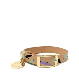 [FSND02301] Tiggy Dog Collar, Aqua Violet